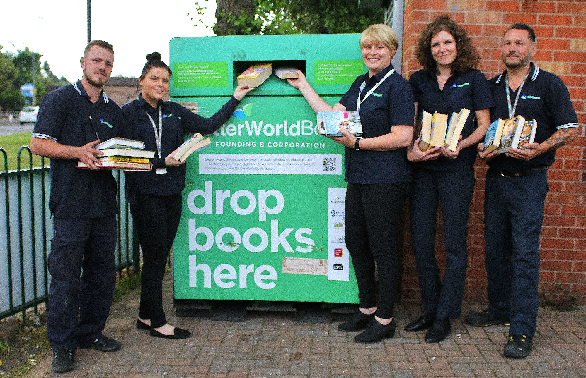 PGS Global and Better World Books recycling book scheme